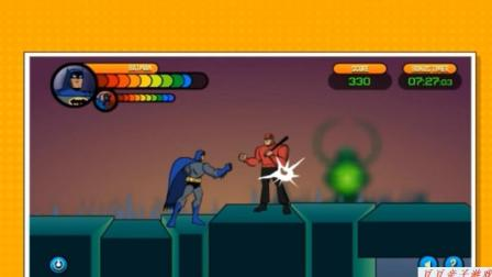 蝙蝠侠黑暗骑士崛起之蝙蝠侠地下城大冒险动画视频