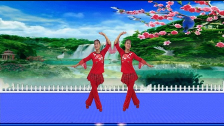 凤之韵广场舞《一朵回忆心上开》编舞武阿哥演示制作凤之韵