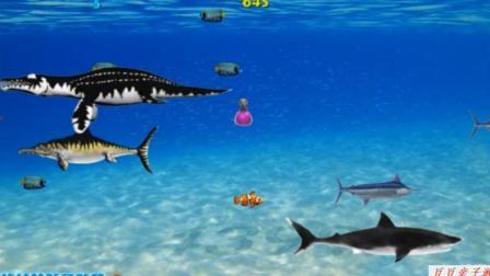 海底大逃杀 海底大猎杀 大鱼吃小鱼之小丑鱼成长记动画