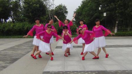 安阳金东姐妹广场舞《缘分让我们在一起》制作凤之韵