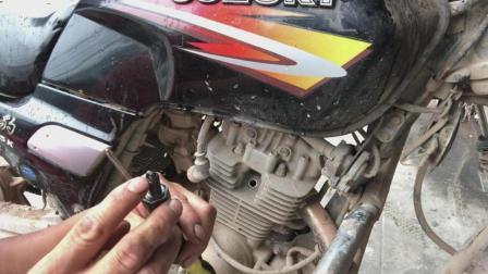 摩托车加油门熄火, 专业师傅教你一个小技巧, 一次就可以解决问题