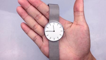 小米石英腕表开箱, 这手表颜值应该卖1万!