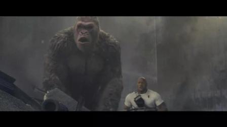 巨兽之间的对决, 视觉的冲击盛宴, 道恩.强森带你领略巨石强森