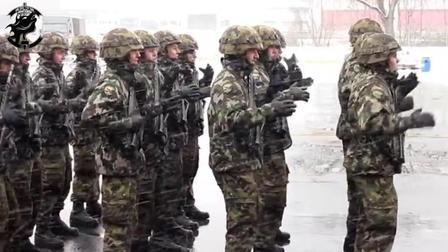 瑞士军队早操的必备项目, 表演一次FIFA足球主体曲