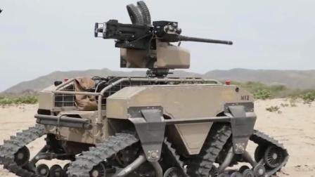 美军空中无人信息中转器及无人战车, 同时亮相军事演习