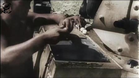 二战中北非军团士兵两大绝技: 坦克上煎鸡蛋和88MM高炮打坦克