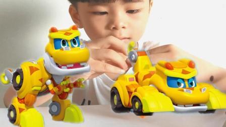 恐龙探险队之帮帮龙出动玩具拆箱