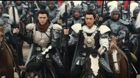 郑伊健带领的杨门七子 突入辽军重围 只为救出杨业杨老令公
