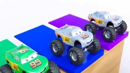 汽车玩具视频 赛车总动员动画视频之大脚车赛车总动员动画视频