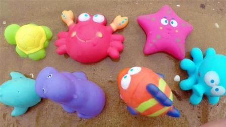 学习7种海洋动物的名字, 小马识动物