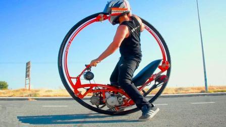 男子纯手工打造一台独轮摩托车, 整个过程太过瘾了