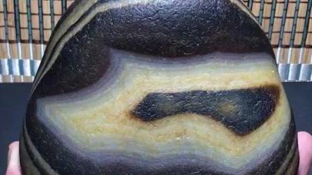 文字一像型石马达加斯加玛瑙