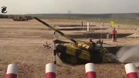 坦克两项赛, 中国96B障碍超车T72B3, 夺得小组第一