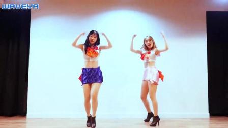 WAVEYA姐妹花舞蹈BTS《ANPANMAN》