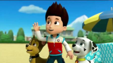 《汪汪队立大功》法兰索瓦姓杜巴, 莱德和狗狗们好奇怪