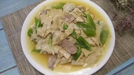 东北经典菜, 尖椒干豆腐怎么做才好吃? 关键就看这几步, 细滑软嫩