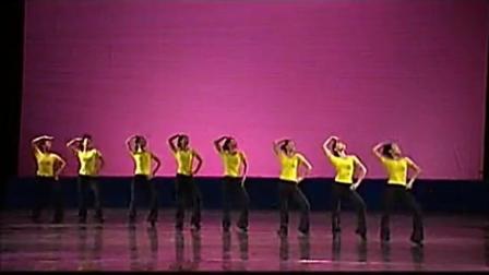 少儿中国舞考级第十级-斜线调度练习