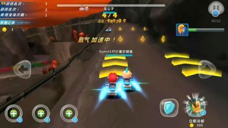 亲子娱乐游戏207 猪猪侠之百变飞车