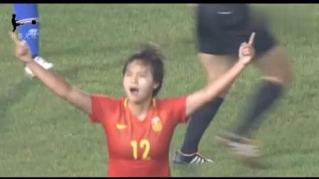 王霜只用了一招马赛回旋, 美国球员气疯了!