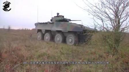 实战证明: 先进的VBCI步战车装甲, 也挡不住中国的火箭弹
