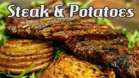 【塞尔维亚风味】浓汁牛排土豆