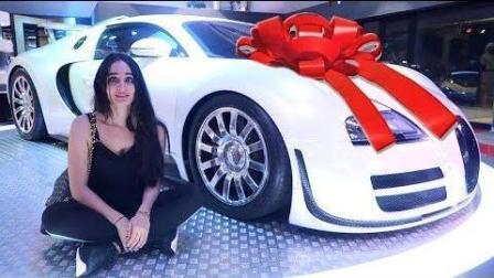 迪拜富豪送我姐 布加迪 威龙 ...