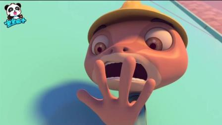 《宝宝巴士》壁虎先生真伟大, 为了不让孩子失望, 失去了自己的小尾巴!