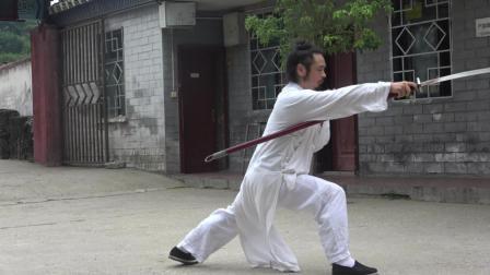 武当陈师宇道长——朴刀刀法