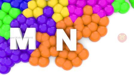 学习蜜蜂和花3D颜色的彩色儿童球