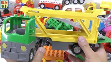 大卡车, 运输车玩具