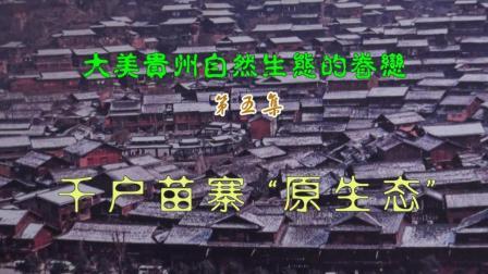 """大美贵州自然生态的眷恋第五集: 千户苗寨""""原生态"""""""