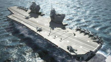 英军新航母赴美借战机演练, 计划让该舰搭载一支F-35B战斗机中队!