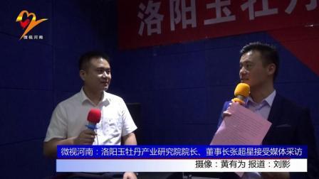 微视河南: 洛阳玉牡丹产业研究院院长、董事长张超星接受媒体采访