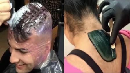 世界上最屌的理发师,每个看了都很强!