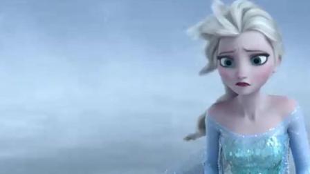 冰雪奇缘: 汉斯对艾莎说安娜死了, 安娜竟看见汉斯想杀艾莎!