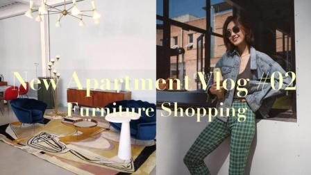 New Apartment Vlog 第二集: 进度很慢的装修, 逛家具店丨Savislook