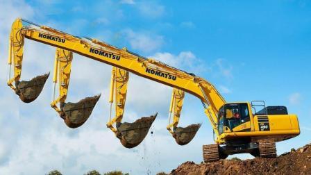 利勃海尔采矿卡车挖掘机推土机装载机, 操作技能我给满分!
