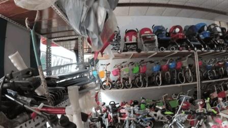 看看农村县城是如何卖童车的? 一辆车的利润有多大?