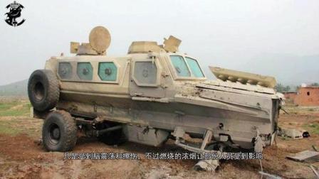 VP3与RG31执行任务, 中国防雷车硬抗导弹, 保持车身不毁