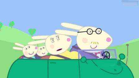 小猪佩奇:佩奇和伙伴们在给小宝宝起名字,猪妈妈在招待客人