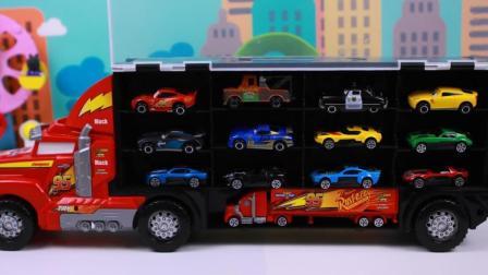 汽车总动员玩具 麦大叔的多功能运输车
