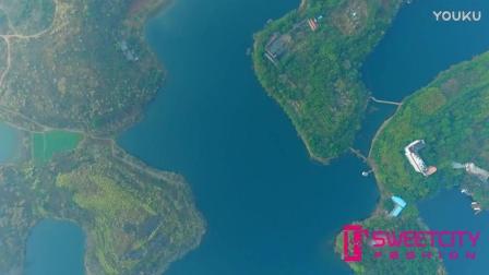 航拍不一样龙泉湖