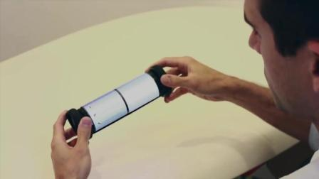 能卷起来的iPad 未来的平板电脑长这样