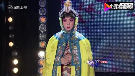 杨紫穿戏服现场唱《北京一夜》, 真有那份淑女气质!