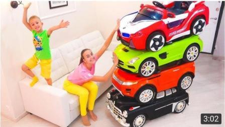 趣玩, 兄弟俩玩汽车玩具太神奇了