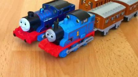 thomas and friends trains toy 02 托马斯小火车 玩具分享英语 annie n clarabel