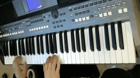 电子琴(铁血丹心)雅马哈975 客所思K6声卡试音录制 电子琴交流
