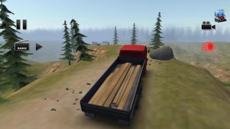 让人绝望的卡车游戏 高难度载货大卡车