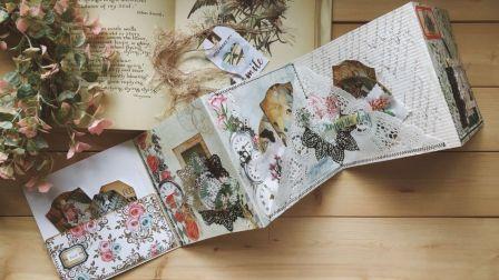 【玛嗒嗒手帐】craft with me丨简单的flip book教程
