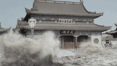 陕西百年神庙, 能让洪水绕道? 专家无法解释, 却被三个小孩破解了